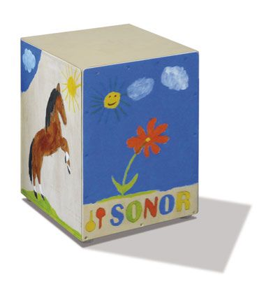 Sonor Caj Diy K Kids Cajon Bausatz F Kinder 32x25x30cm On Popscreen